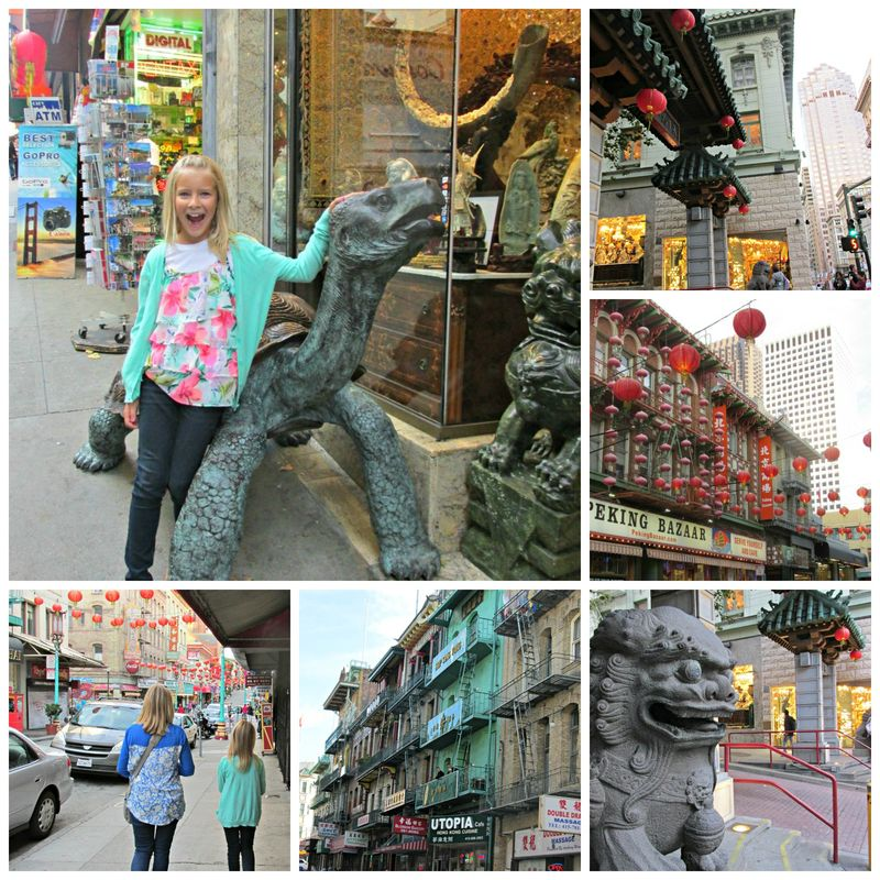 San Francisco China Town Collage