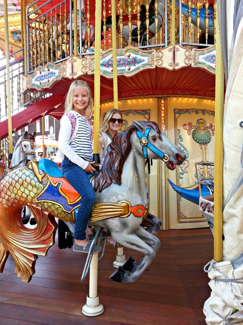 San Francisco merry go round small