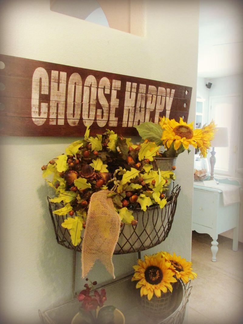 Hello fall choose happy