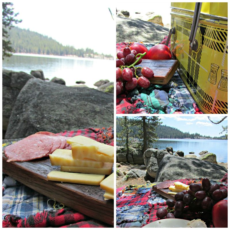 Picnic lunch Collage
