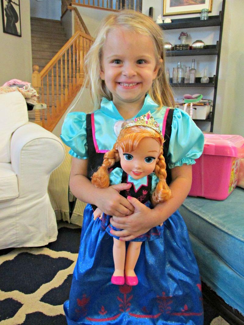 Audrey birthday doll