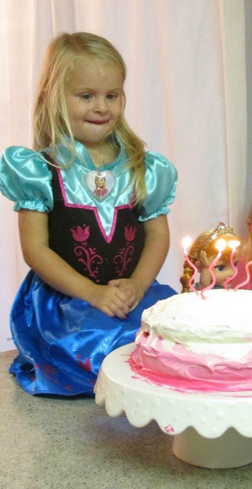 Audrey birthday cake