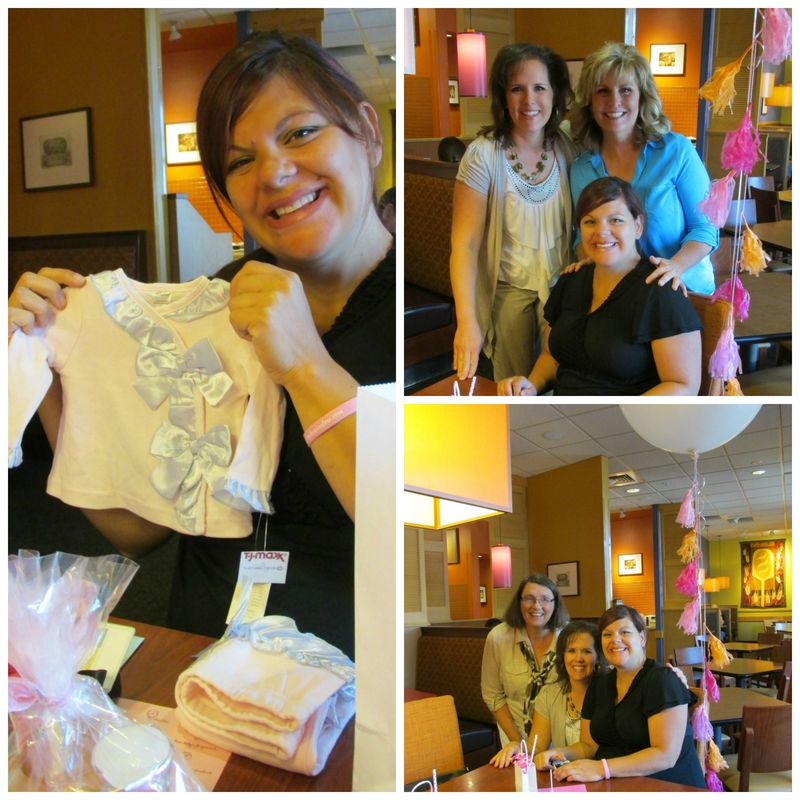 Pop up baby shower brooke Collage