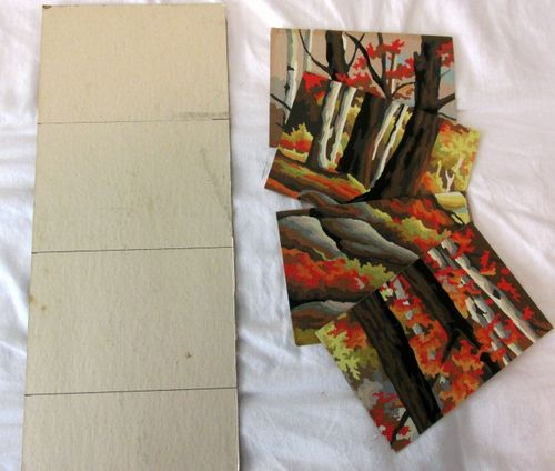Paint by numbers post card 1