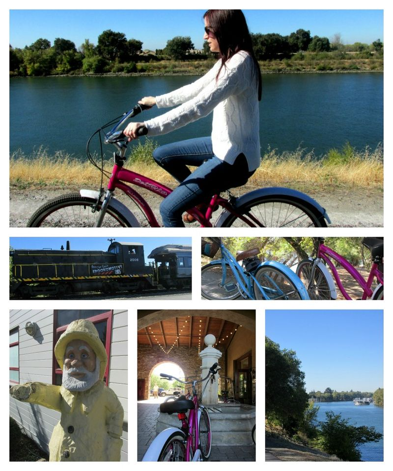 Sacramento bike ride 1 Collage