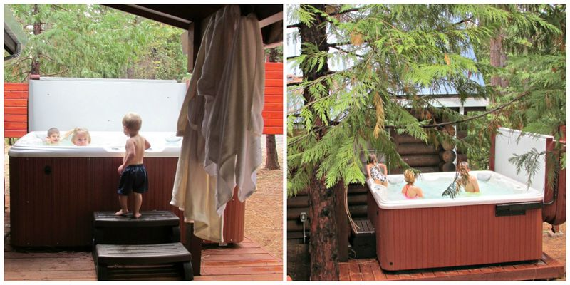 Hot tub  Collage
