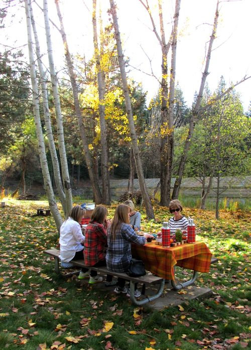 Picnic fall gathering 3