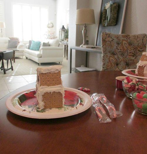 Christmas candy house- 1