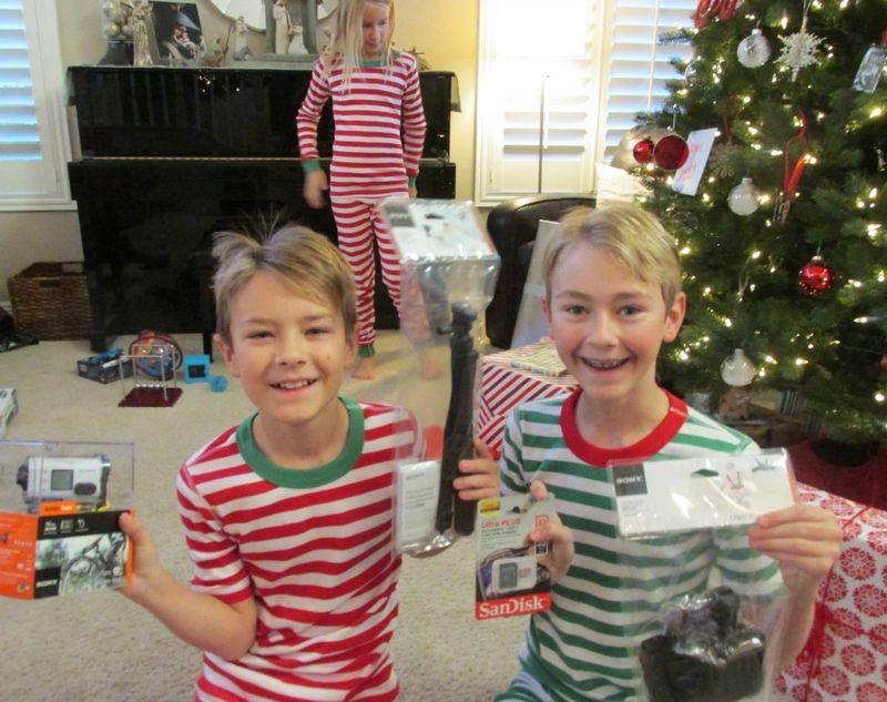 Christmas boys and toys
