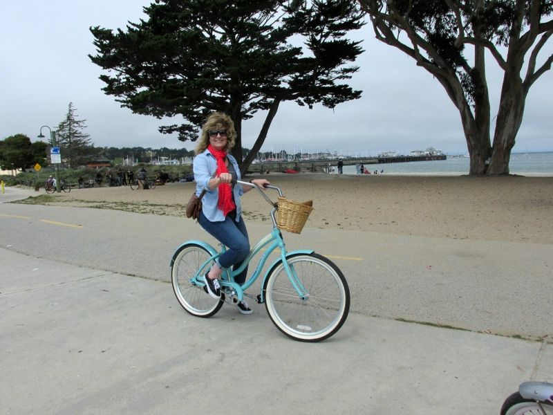 Bike adventure me