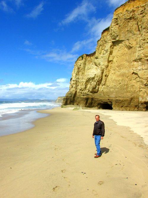 Pomponio state beach danny
