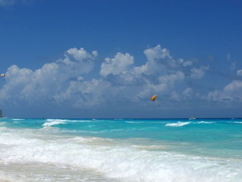 Westin beach front Cancun