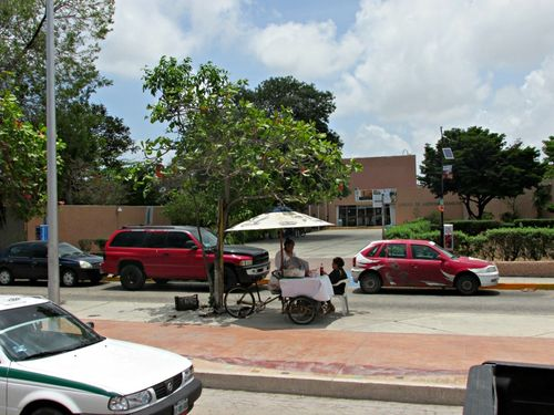 Cancun mexico on the street 1