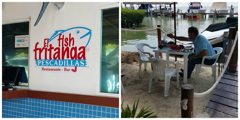 Cancun el fish fritanga Collage