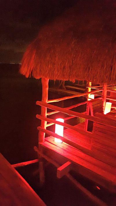 Cancun Mexico Thai hut 3
