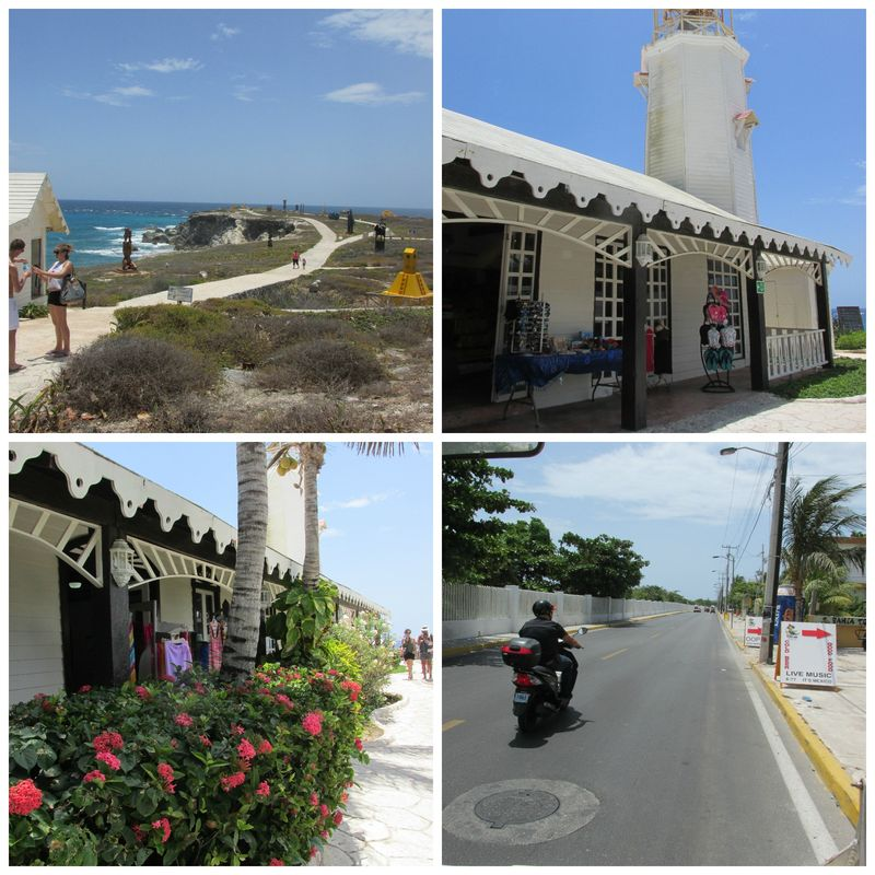 Isla murjeres town Collage