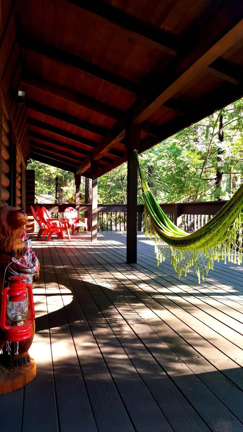 Cabin 2015 new deck