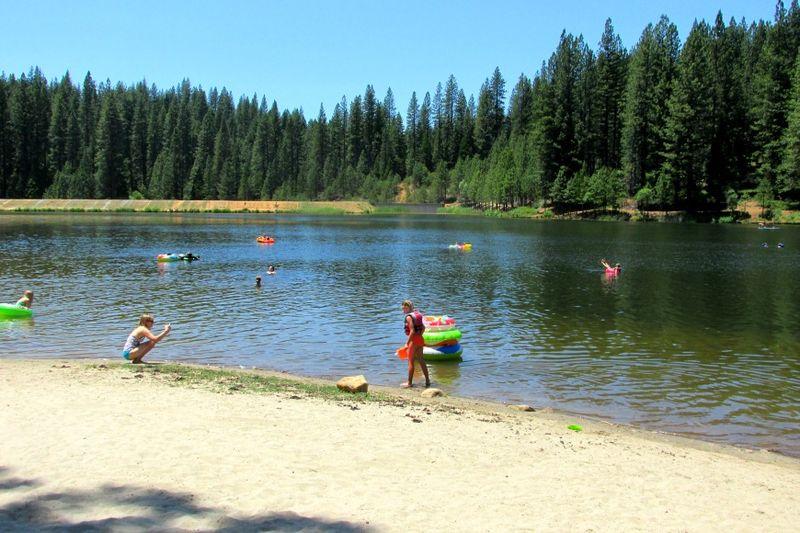 Cabin white pine lake anna