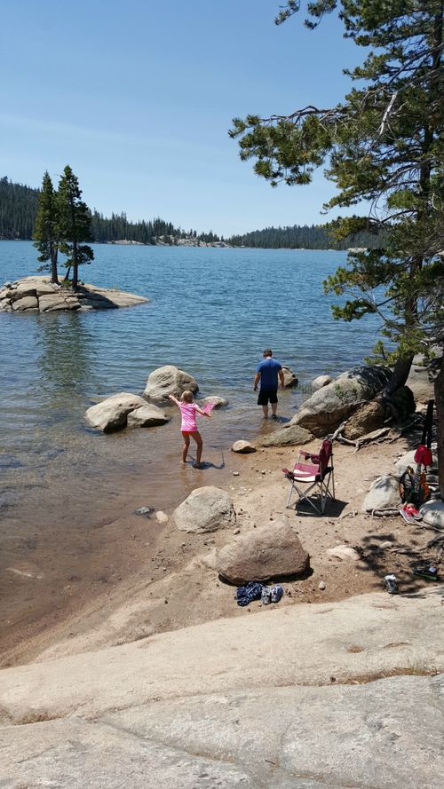 Cabin 2015 alpine lake rocks