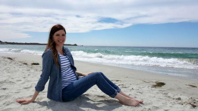 Sunshine & saltwater bree beach