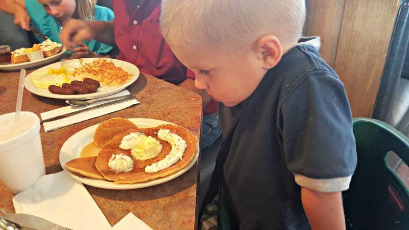 Cole pancakes