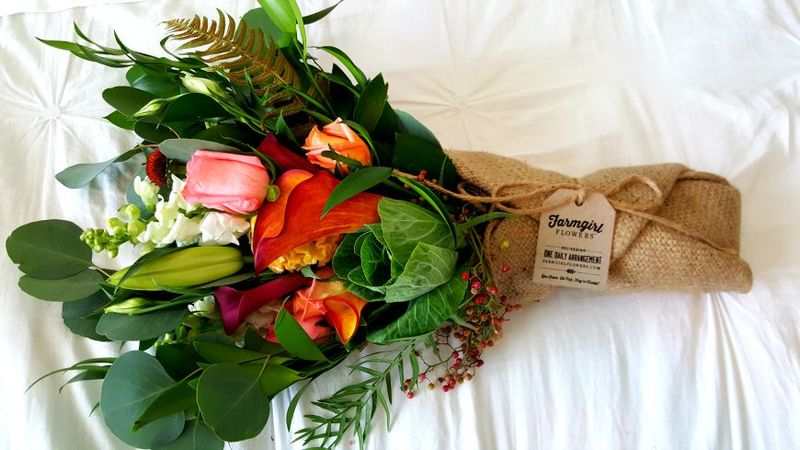 Farmgirlflowers burlap