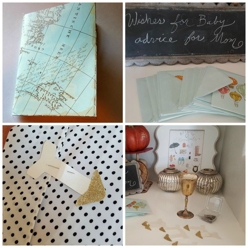 Adventure baby shower- Collage