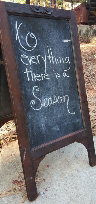 Fall- chalkboard