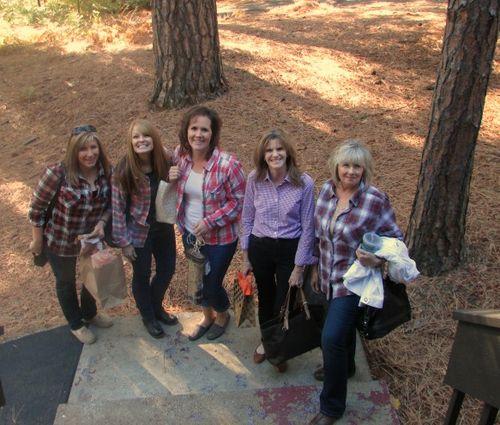 Fall- girls arriving