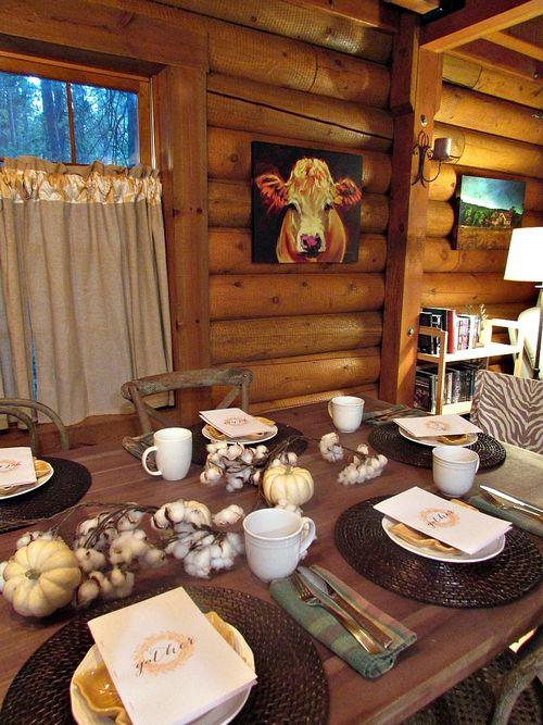 Fall- gather table Gilda