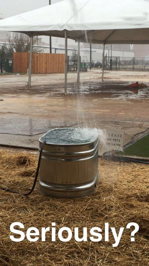 Magnolia- rain bucket