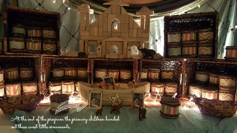 A night in Bethlehem- top shop ornaments