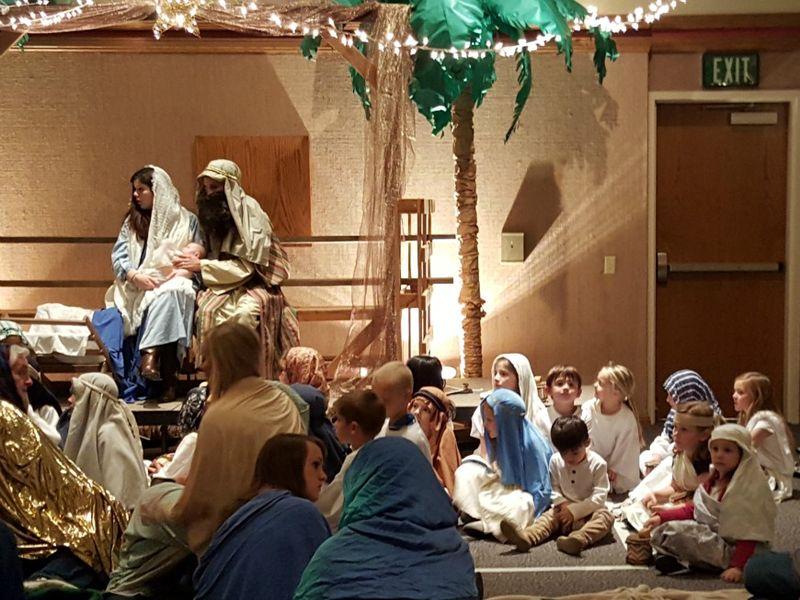 A night in Bethlehem- manger 2