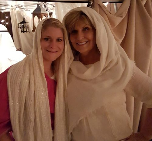 A night in Bethlehem- me and heidi