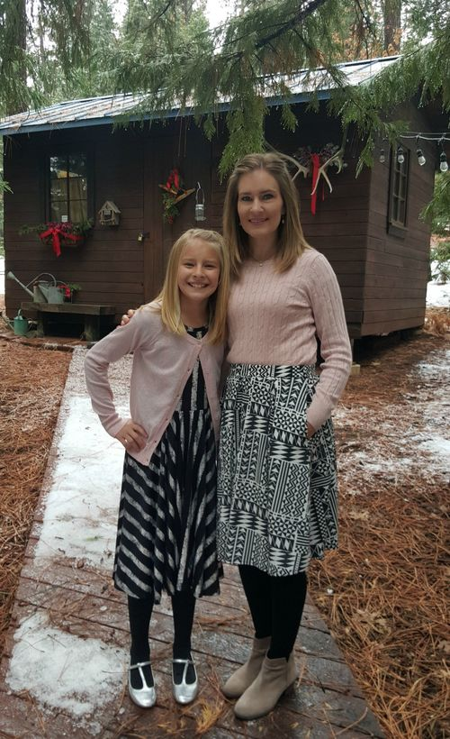 Cabin dec 2015 shannon and anna