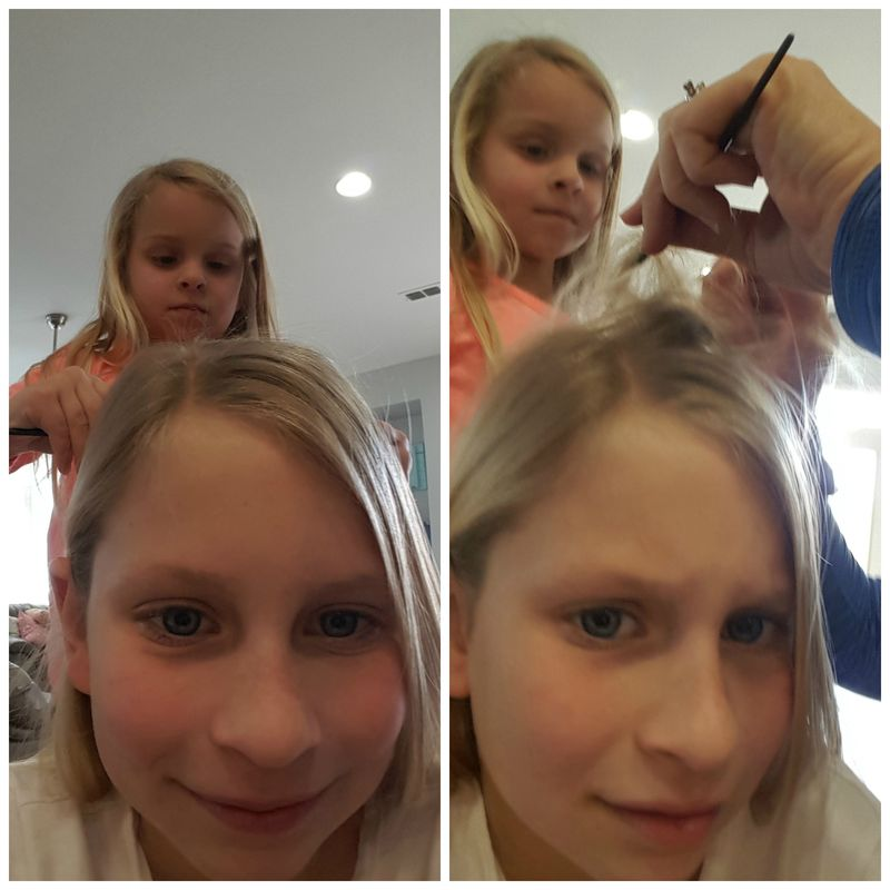 Carlee hair  Collage