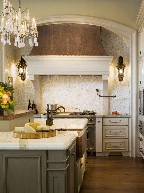 Kitchen wall stove