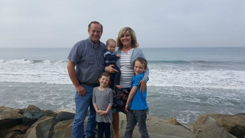 Oceanside us with the kids