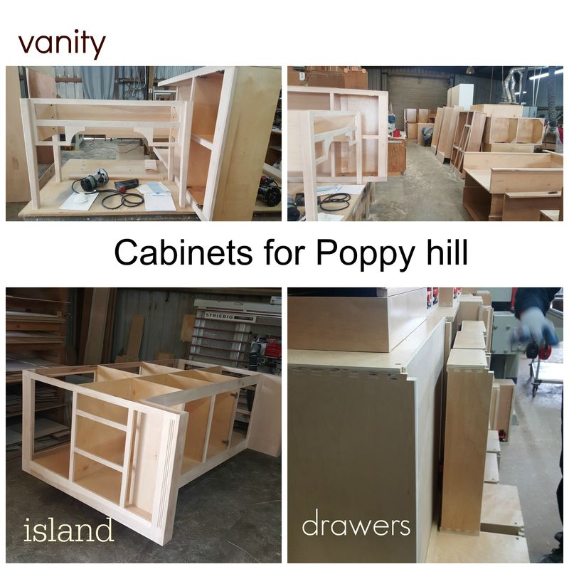 Poppy hill cabinets Collage