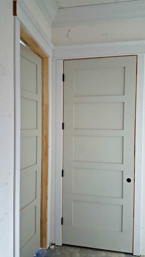 Poppy hill door and trim
