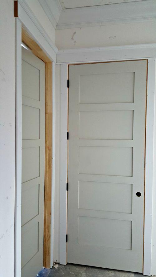Poppy hill door and trim