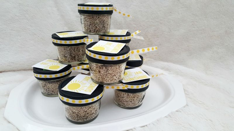 Daffodil day seed shakers