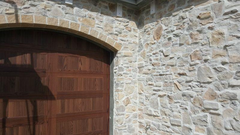 Poppy hill garage doors up close