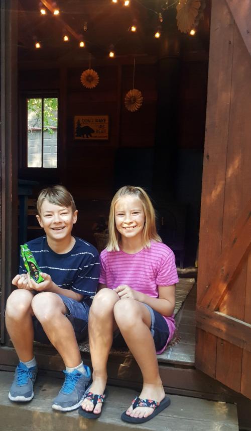 Shannon cabin kids bunkie