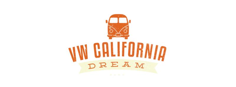 Vw california dreamnlogo