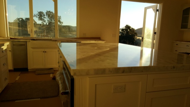 Poppy hill kitchen island sunrise