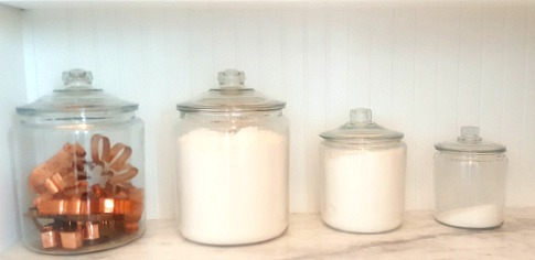 Poppy hill pantry copper canisters