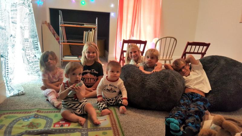 Poppy hill kids in playroom