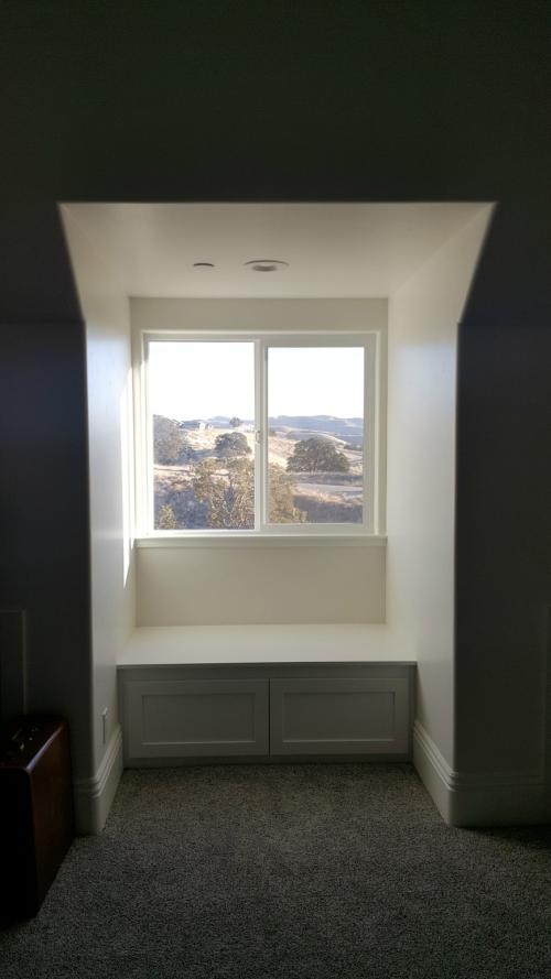 Poppy hill window seat kids room