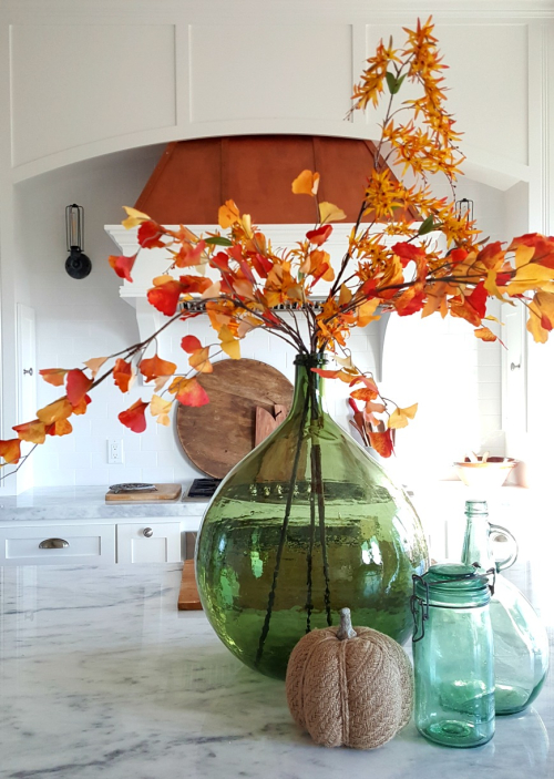 Poppy hill fall leaves jars
